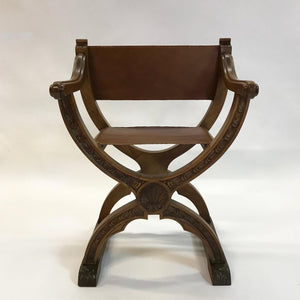 Craftsman Campaign Chair