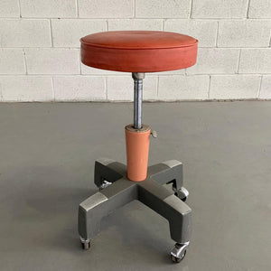 Industrial Adjustable Stool By American Optical Company