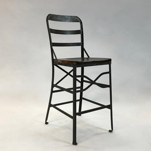 Wrought Iron Shop Stool