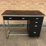 Art Deco Tubular Chrome Desk By Gilbert Rohde