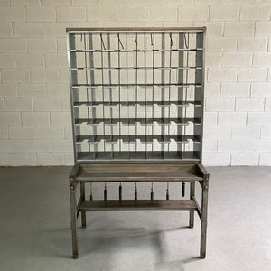 Industrial Steel Mail Letter Sorter Unit