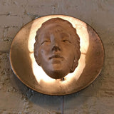 Art Deco Figurative Wall Sconce