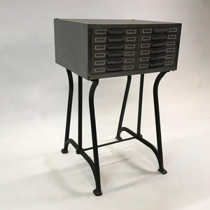 Industrial Brushed Steel Catalog Archive Cabinet