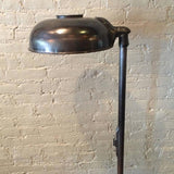 Medical Floor Lamp Gunmetal Finish