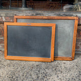 Slate Chalkboards With Wood Frames