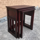 Mahogany Nesting Tables