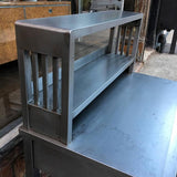 Brushed Steel Desk Set