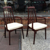 Rosewood High Back Armchairs