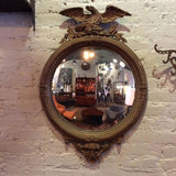 1930s Federal Style Convex Mirror