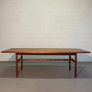Jens Risom Walnut Conference Dining Table