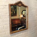 Gilded Plumed Mirror