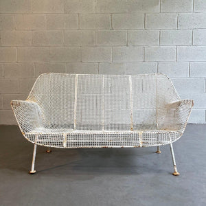 Sculptura Patio Loveseat Sofa By Russell Woodard