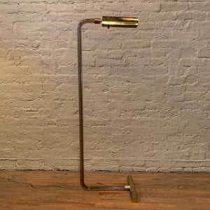 Peter Hamburger for George Kovacs Smoked Lucite Floor Lamp
