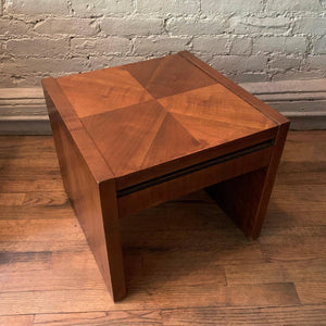 Petite Mid-century Side Table By Altavista Lane