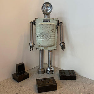 G.E. Robot Sculpture By Bennett Robot Works