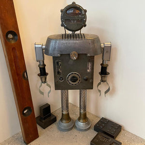 R.R. Robot Sculpture By Bennett Robot Works