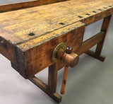 Carpenter's Work Bench Table