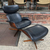 Plycraft Lounge Chair + Ottoman