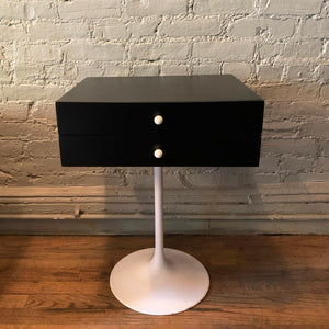 Mid Century Modern Tulip Side Table Nightstand