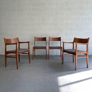 Danish Modern Teak Dining Chairs By Funder-Schmidt & Madsen For Odense