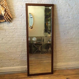 Oak Craftsman Mirror