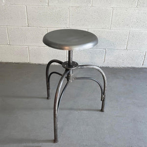 Industrial Apothecary Hospital Examination Swivel Stool