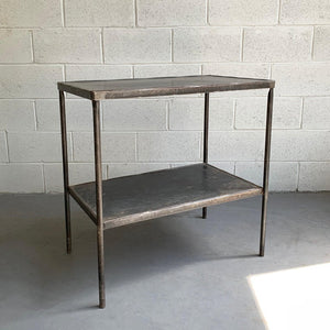 Industrial Steel Hospital Prep Table