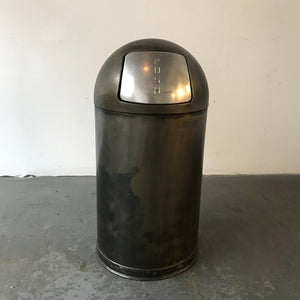 Industrial Steel Trash Can