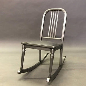 Brushed Steel Rocker