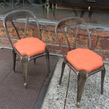 Original Tolix Café Chairs By Xavier Pauchard