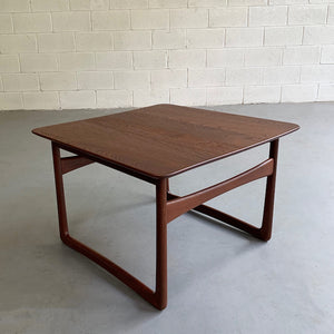 Danish Modern Teak Side Table by Peter Hvidt & Orla Mølgaard-Nielsen