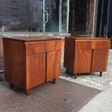Walnut Night Stands By John Stuart