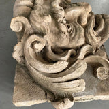 Large Carved Garden Gargoyle Alto Relief