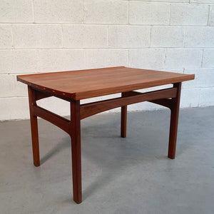 Teak Side Table By Tove And Edvard Kindt-Larsen For DUX