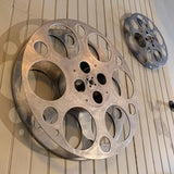 Large Industrial Aluminum Film Reel