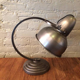 Brushed Steel GE Lamp