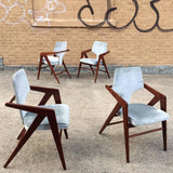Compass Chairs By Cornelis Zitman For Tecoteca
