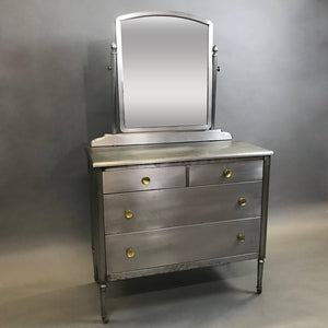 Brushed Steel Simmons Dresser