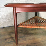 Poul Jensen Danish Modern Teak Side Table