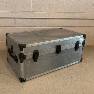 Industrial Aluminum Military Trunk