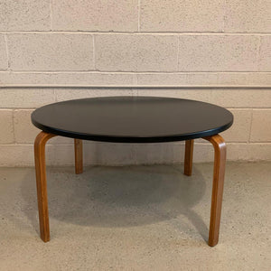 Alvar Aalto Round Bentwood Coffee Table