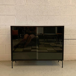 Paul McCobb Planner Group Glass Front Bookcase Cabinet