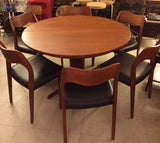Niels Møller Round Dining Table