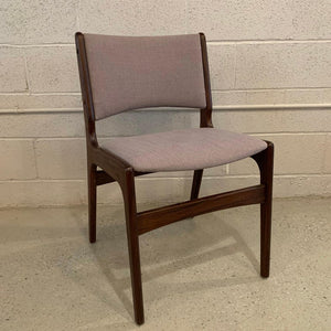 Henning Kjaernulf Teak Side Dining Desk Chair