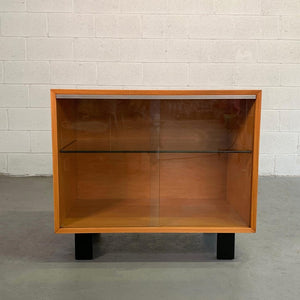 George Nelson for Herman Miller Glass Front Cabinet Credenza