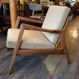 Sculptural Danish Lounge Chair