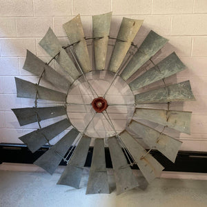 Large Industrial Windmill Wheel