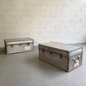 Industrial Aluminum Military Trunks
