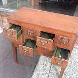 Oak Library Card Catalogue