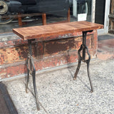 Custom Industrial Side Table